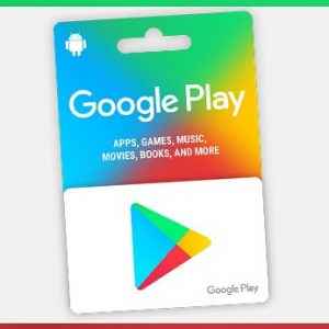 Card Cadou Google Play