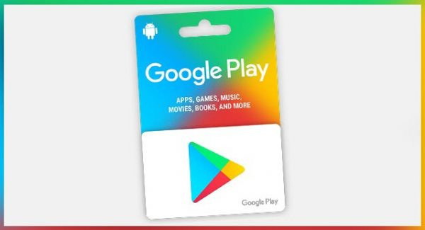 Card Cadou Google Play