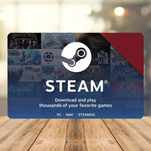 Steam Wallet Code EUROPE